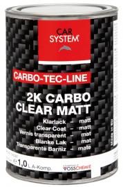 Carbon 2K blanke lak matt harder 0,5 liter